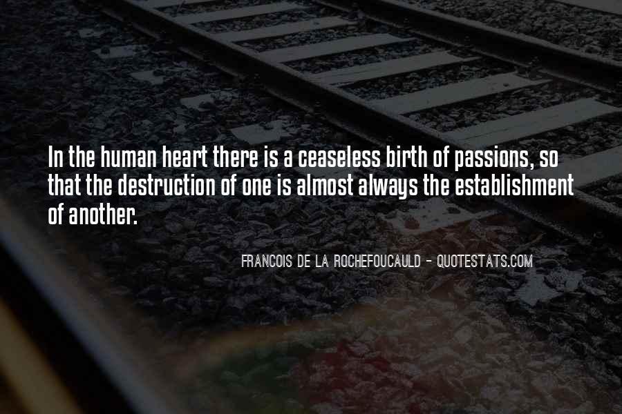La Passion Quotes #1241091