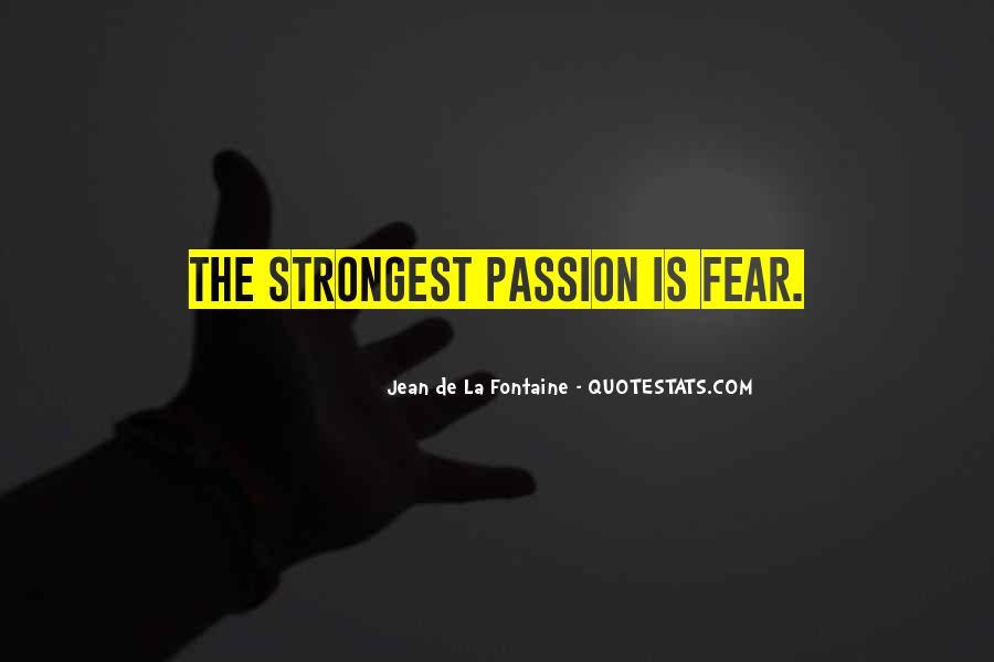 La Passion Quotes #485924