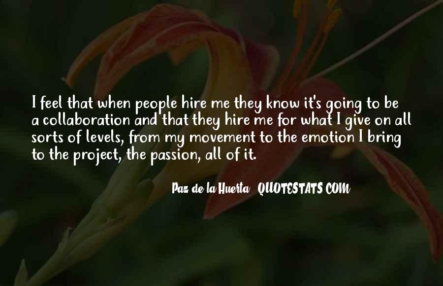 La Passion Quotes #514083