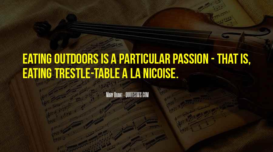 La Passion Quotes #679166