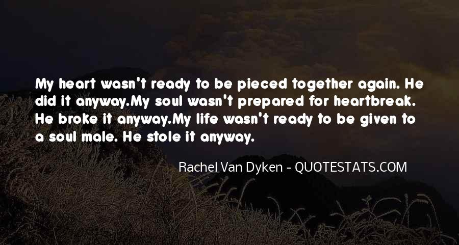 Quotes About Dyken #469769