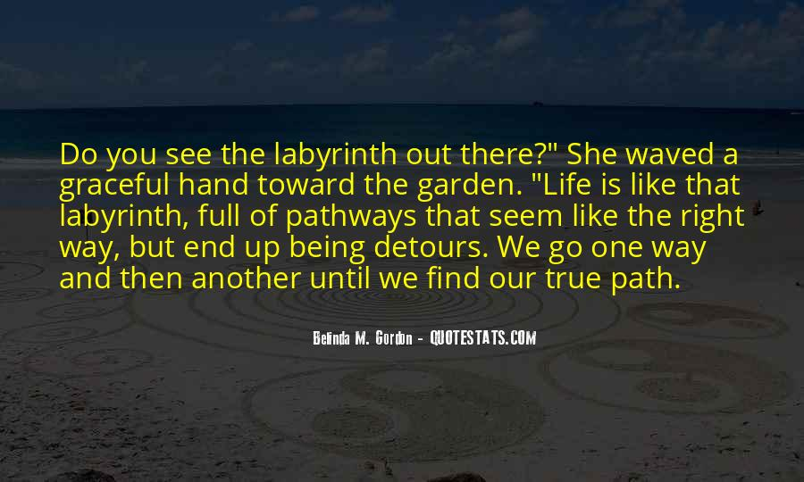Labyrinth Quotes #799954