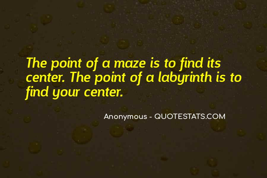 Labyrinth Quotes #827410