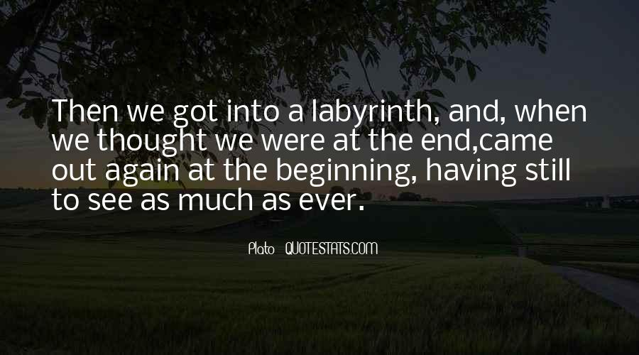 Labyrinth Quotes #92241