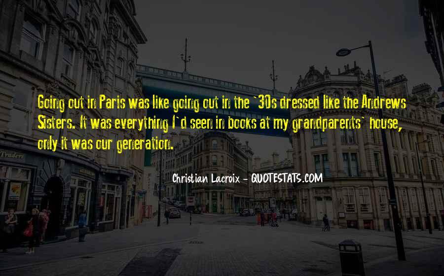 Lacroix Quotes #1651571