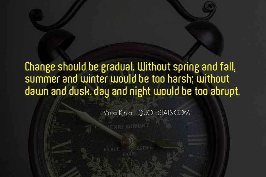 Quotes About Dusk And Dawn #938694