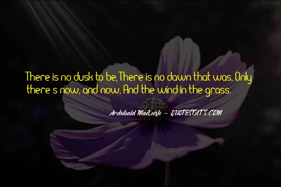 Quotes About Dusk And Dawn #97204