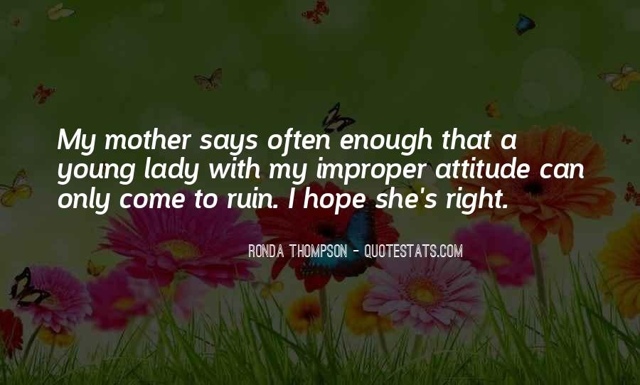 Lady With Attitude Quotes #485853