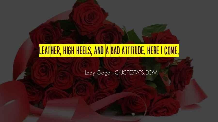 Lady With Attitude Quotes #580236