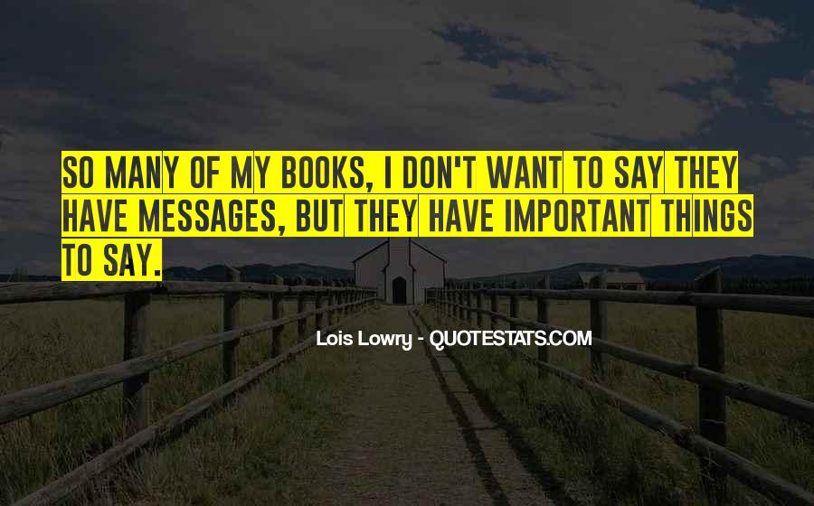 Lancey Howard Quotes #65003