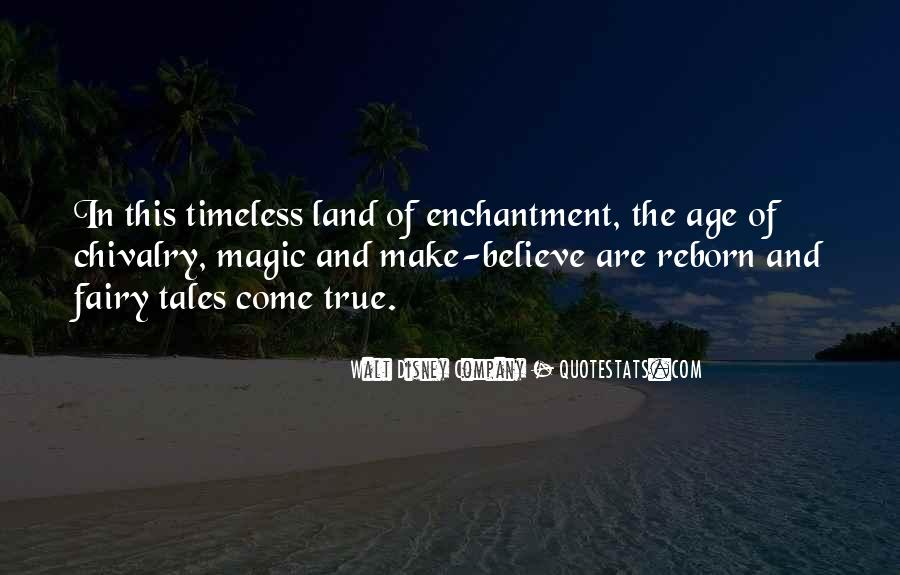 Land Of Enchantment Quotes #672435