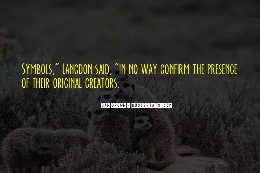 Langdon Quotes #1074744