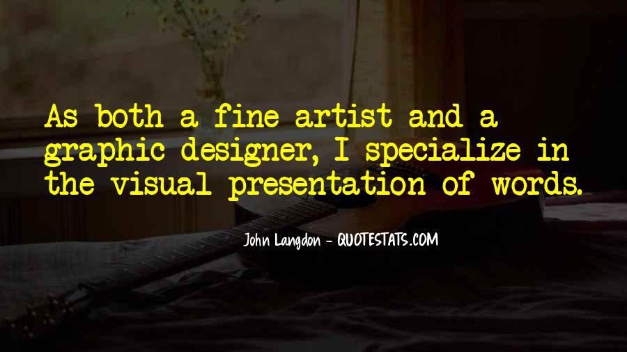 Langdon Quotes #326972