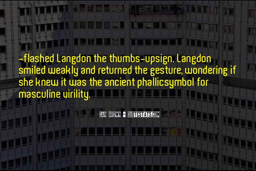 Langdon Quotes #563050