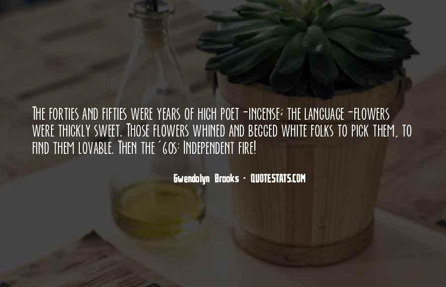 Language Of Flowers Quotes #1833117