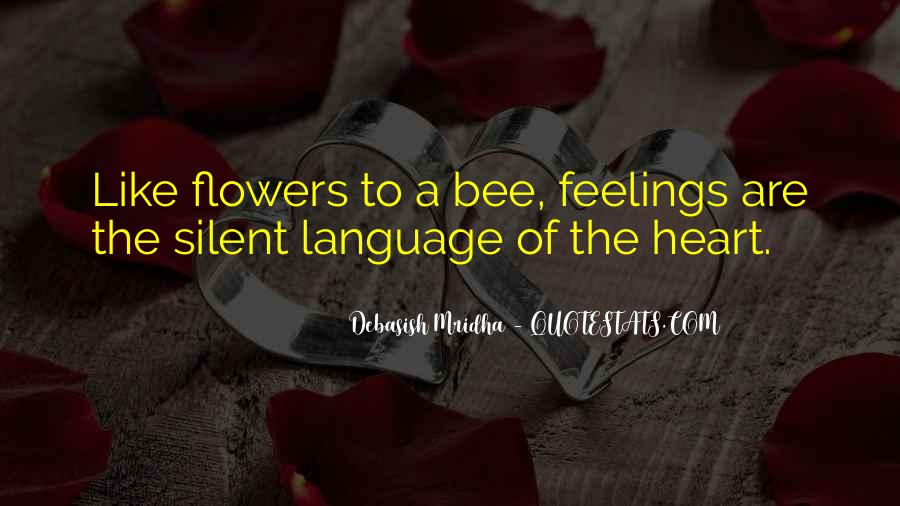 Language Of Flowers Quotes #390992