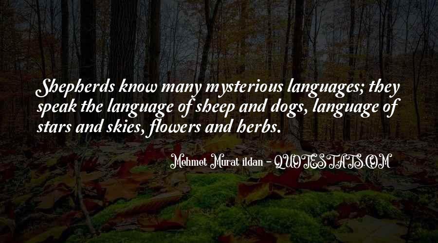 Language Of Flowers Quotes #83007