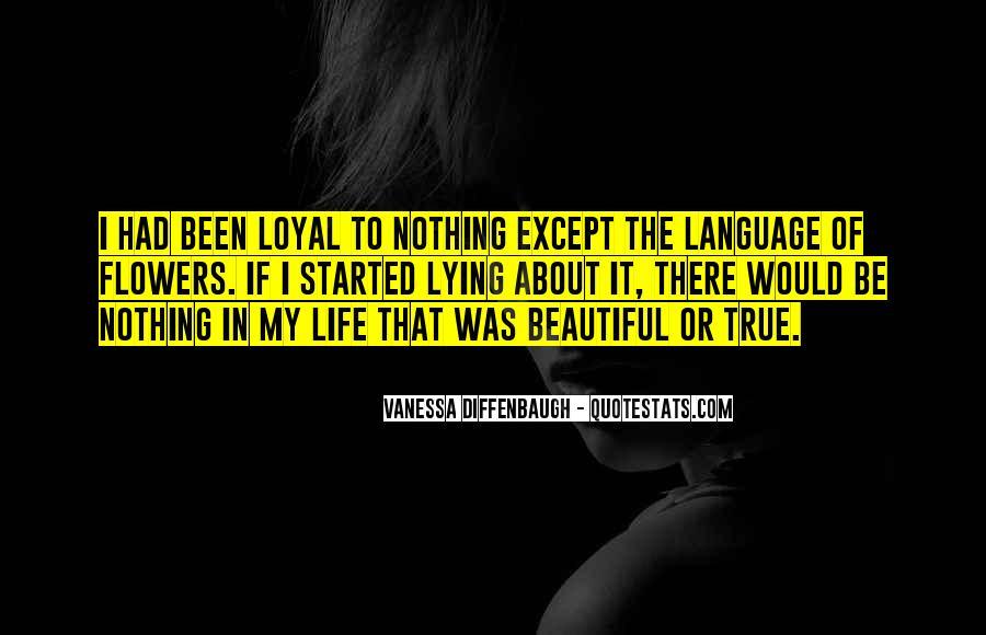 Language Of Flowers Quotes #997658