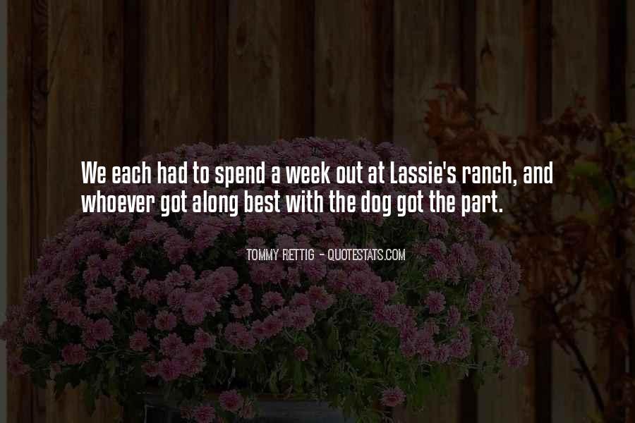 Lassie Dog Quotes #406553