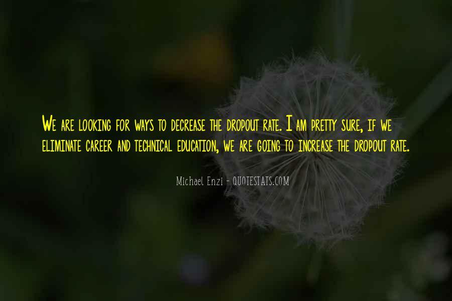 Quotes About Dropout #1240968