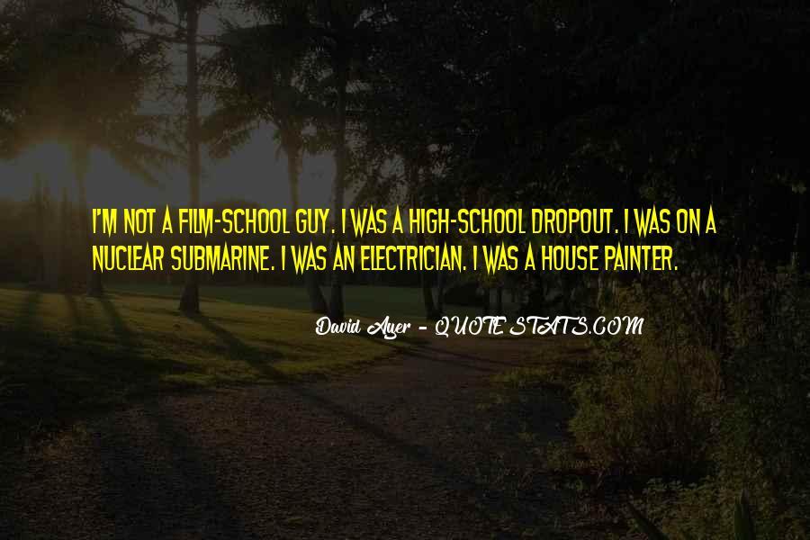 Quotes About Dropout #1538754