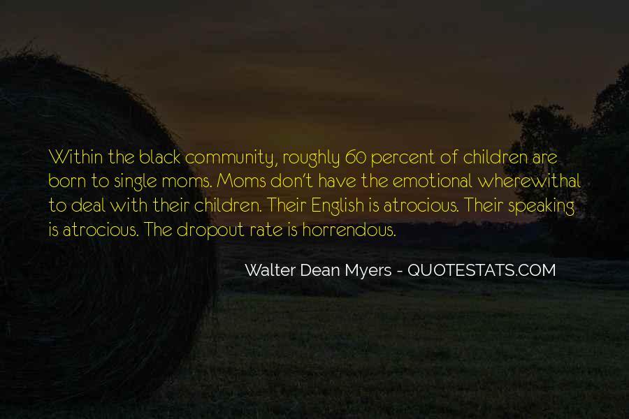 Quotes About Dropout #289076
