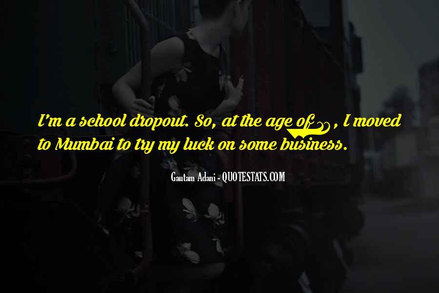 Quotes About Dropout #511912