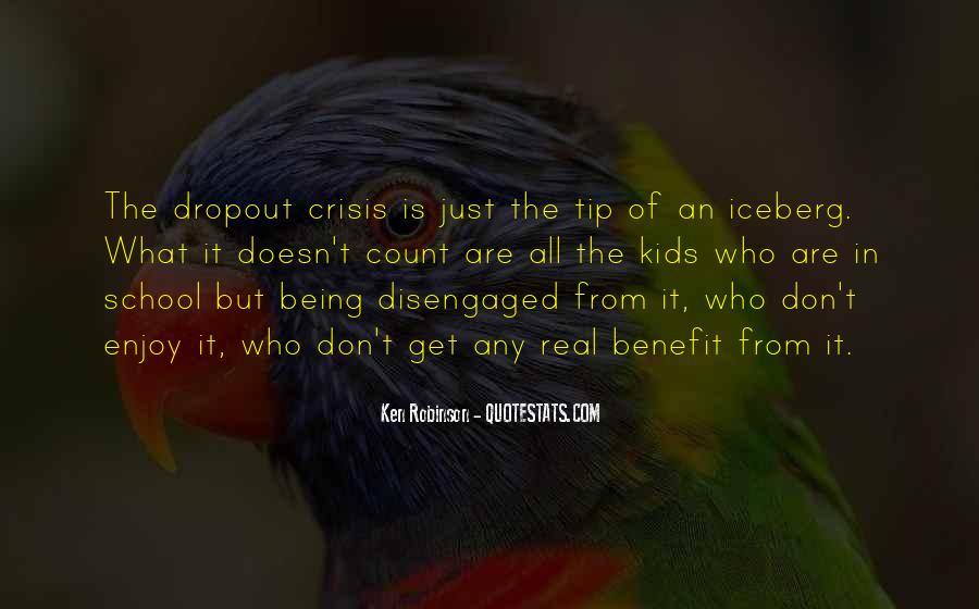 Quotes About Dropout #583280