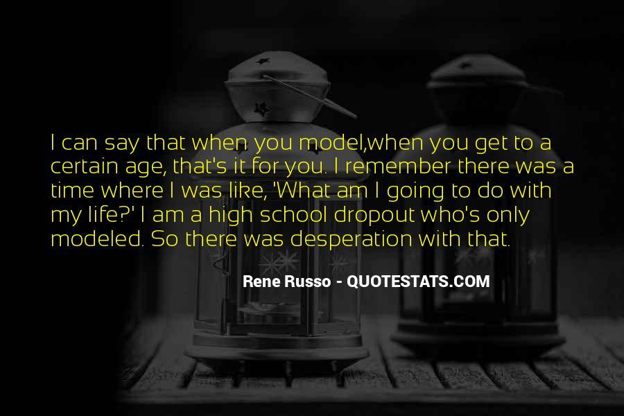 Quotes About Dropout #710792
