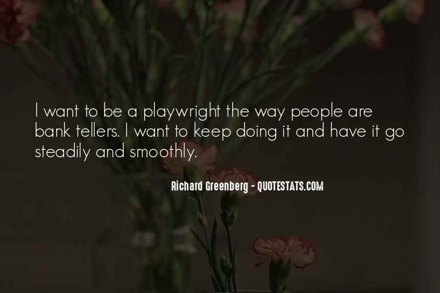 Quotes About Tellers #1562158