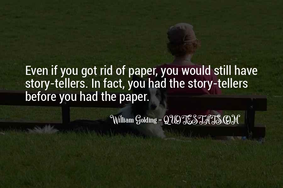 Quotes About Tellers #165368