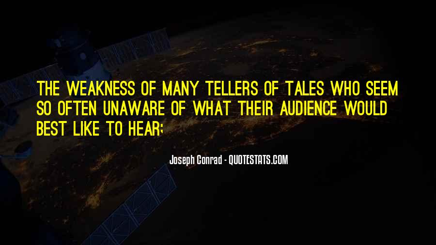 Quotes About Tellers #692575