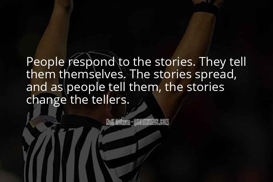 Quotes About Tellers #890694