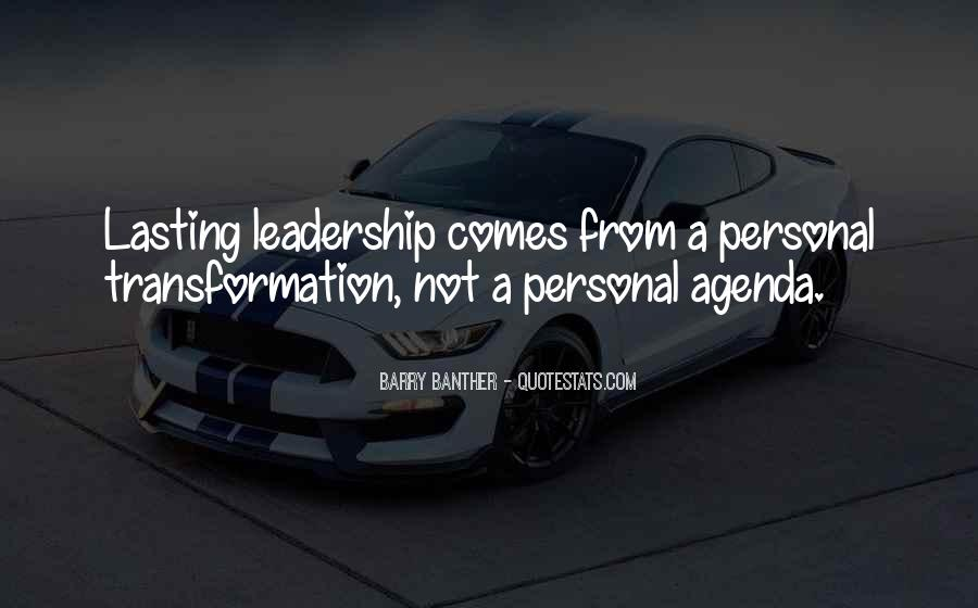 Lasting Leadership Quotes #1396332