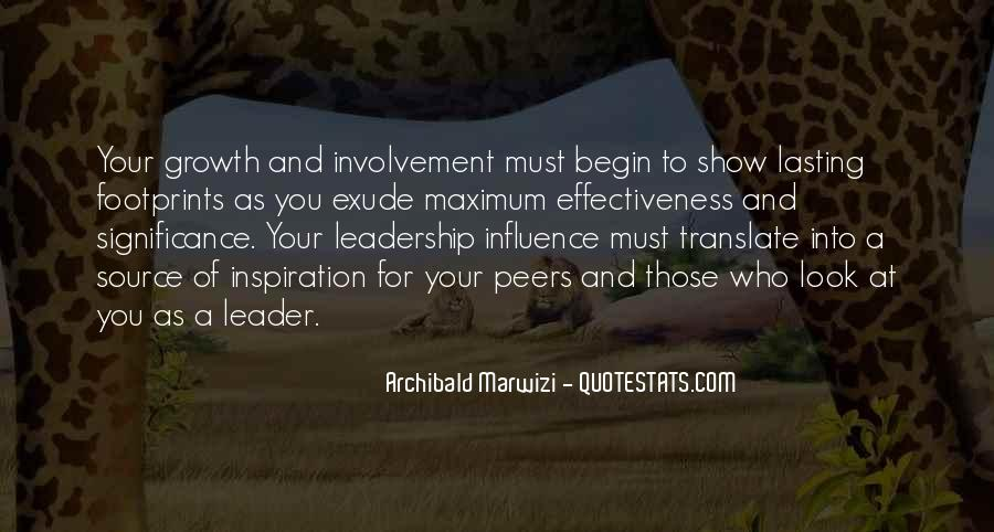 Lasting Leadership Quotes #754048