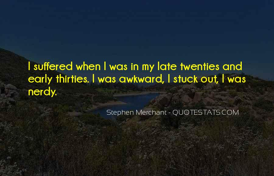 Late Thirties Quotes #1593102