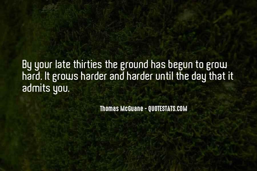 Late Thirties Quotes #687125
