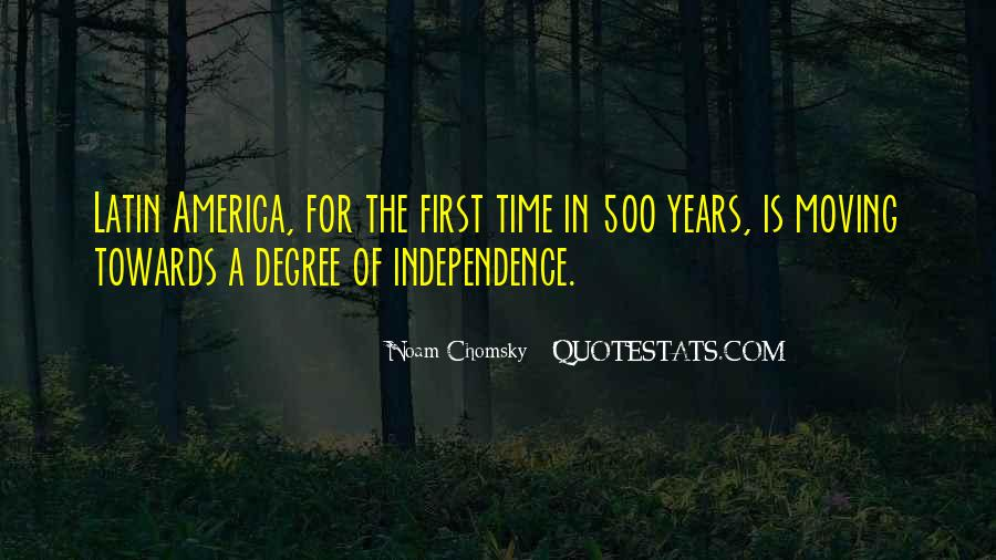 Latin America Independence Quotes #1172016