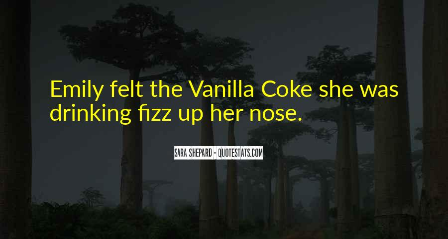 Quotes About Drinking Coke #1415840