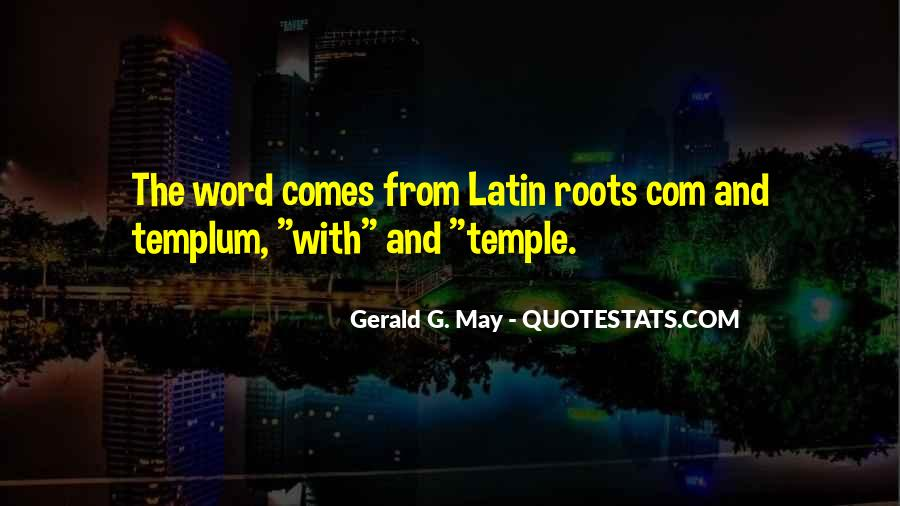 Latin Word For Quotes #1436525