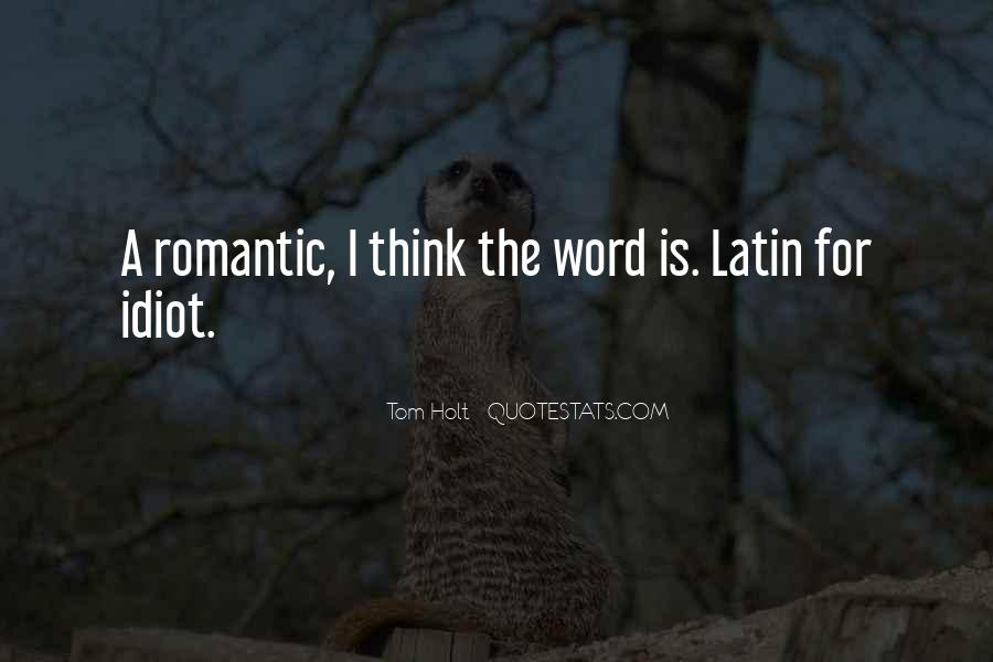 Latin Word For Quotes #1671526