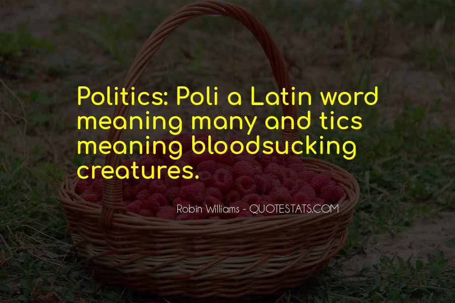 Latin Word For Quotes #528221