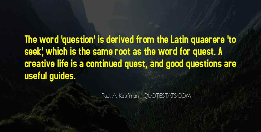 Latin Word For Quotes #76297