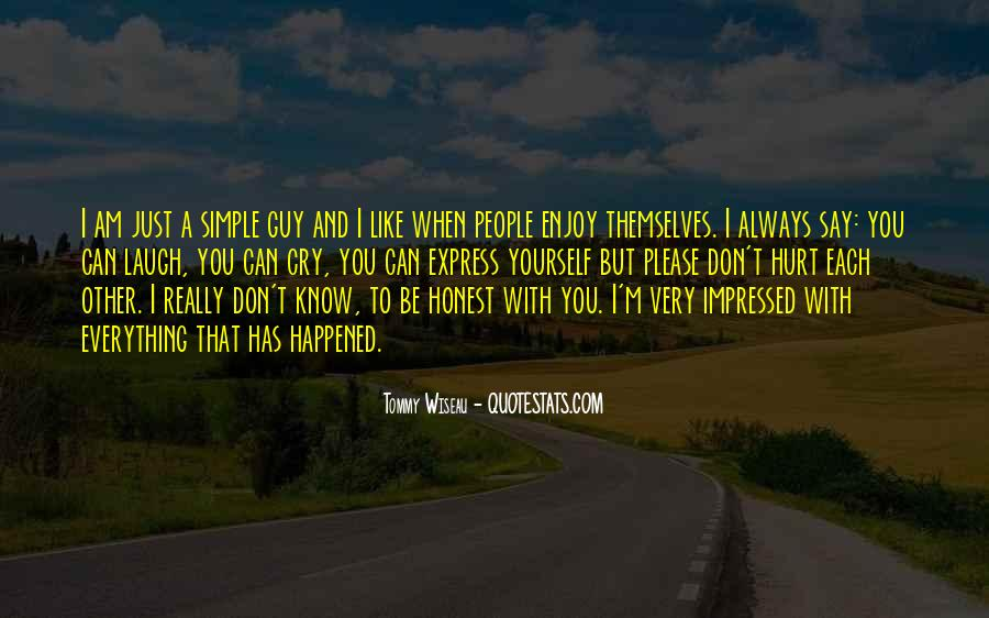 Laugh Until We Cry Quotes #85813