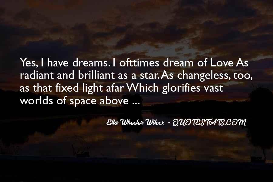 Quotes About Dreams Stars #123307