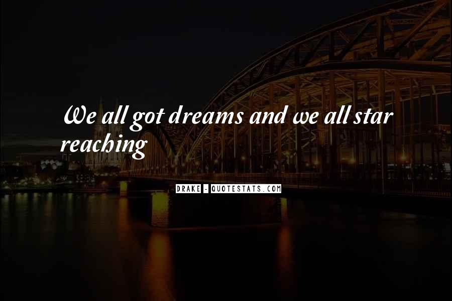 Quotes About Dreams Stars #147331