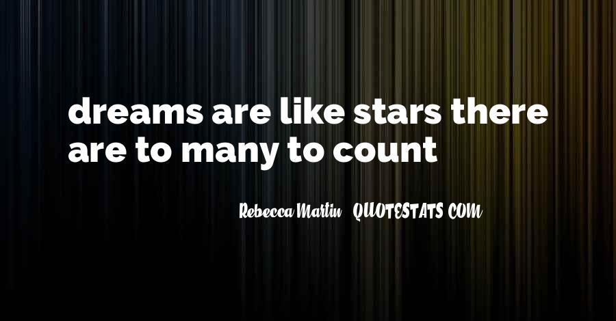 Quotes About Dreams Stars #238753