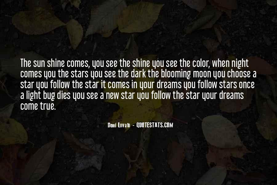 Quotes About Dreams Stars #240185