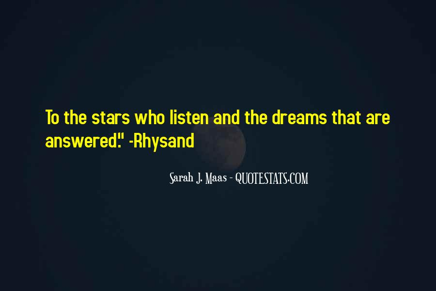 Quotes About Dreams Stars #632188