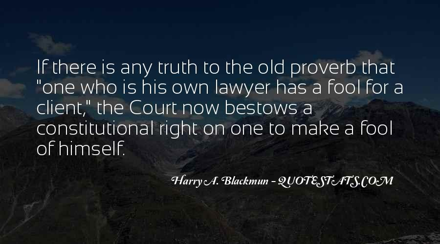 Lawyer Client Quotes #1059388
